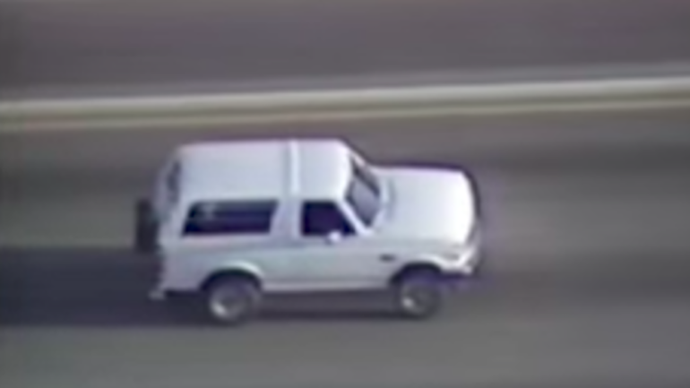 Oj Simpson Bronco Chase Route