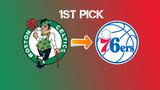 76ers will acquire No. 1 overall pick from Celtics in NBA Draft