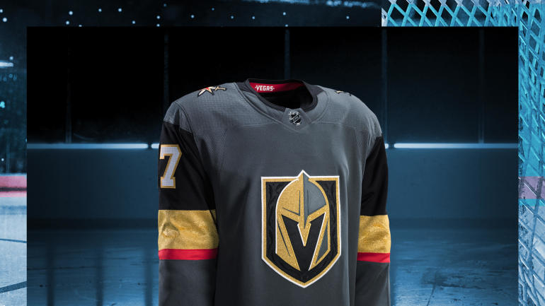 LOOK: Vegas Golden Knights unveil jerseys for franchise's inaugural NHL season - CBSSports.com