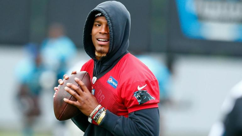 Cam Newton hits important checkpoint in recovery from shoulder surgery