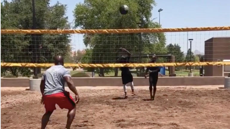 Harrison-james-volleymedicineball