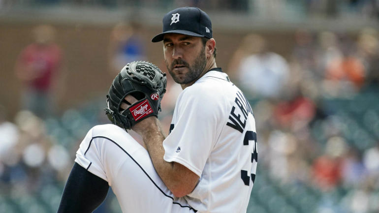 MLB trade rumors: Tigers reportedly place Justin Verlander ...