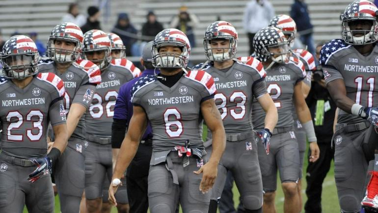 Ranking the best and most patriotic uniforms in college football -  CBSSports.com d079f49a9