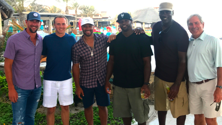 look  jordan spieth hangs out with michael jordan  michael