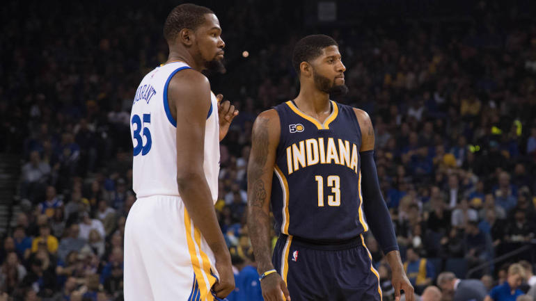 5c32066f0078 Paul George says Kevin Durant sold him on OKC   That place will blow you  away  - CBSSports.com