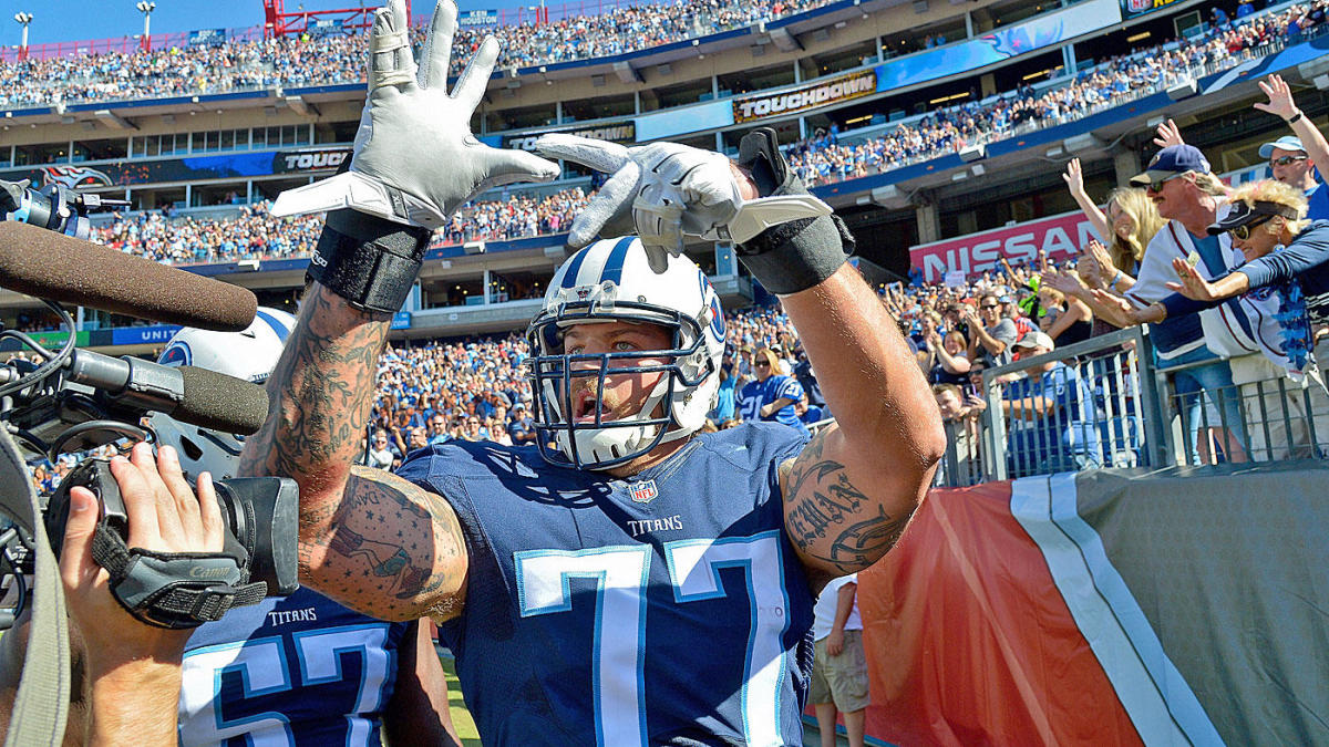 Titans' Taylor Lewan facing four-game suspension due to failed drug test, will release polygraph