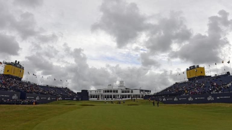 2017 british open weather report  rain  wind in the