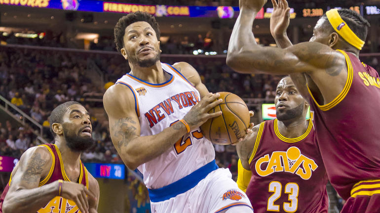 5b34e3753303 NBA Free Agency  Derrick Rose reportedly in  serious talks  to join Cavs on  1-year deal - CBSSports.com