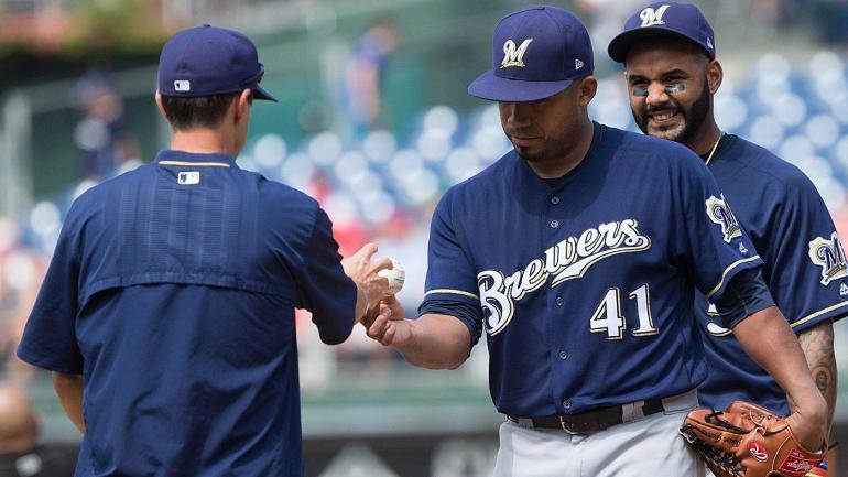 Sunday MLB scores, trade rumors, news, updates: Brewers imploding; Rockies back on track?