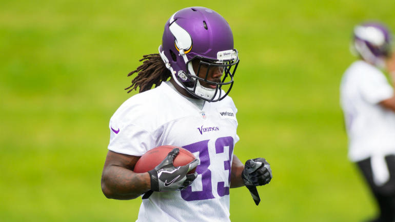 db3ef5fa9 Vikings camp  Rookie RB Dalvin Cook looks like the real deal in full pads -  CBSSports.com