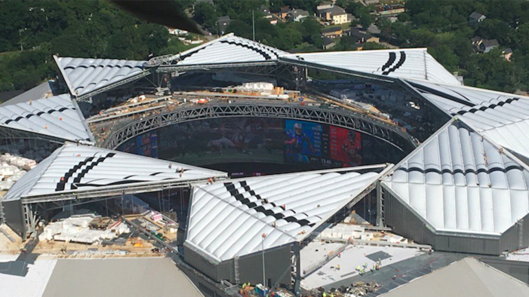 The Falcons New 1 5 Billion Stadium Will Be Missing A