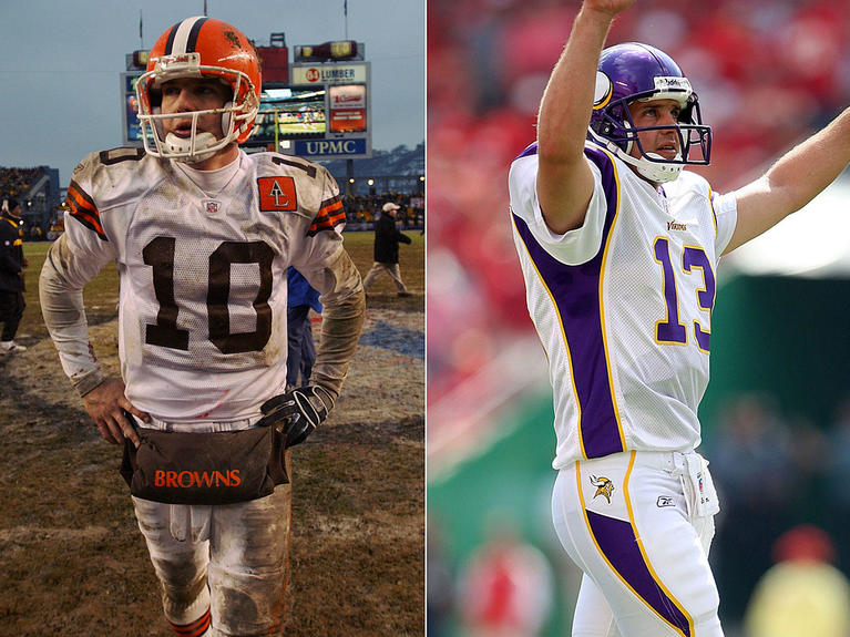 new product 3f6ea 60460 Browns starting QBs since 1999: Before & after photos of QB ...