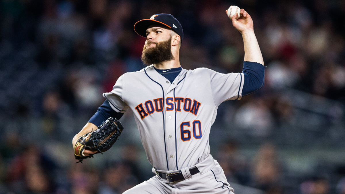 Dallas Keuchel admits he's 'disappointed' by Astros' quiet