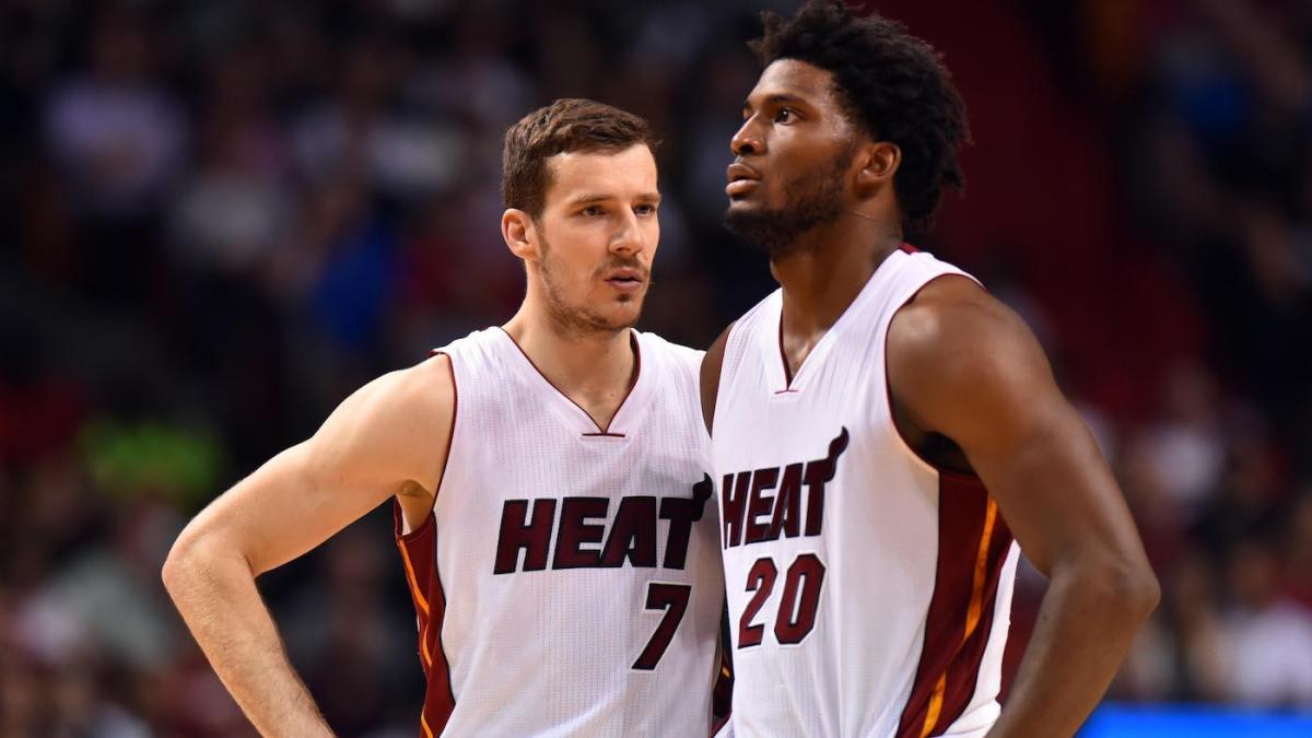 תוצאת תמונה עבור ‪justise winslow and goran dragic‬‏