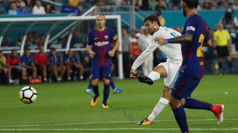 real madrid live stream info tv channel how to watch el clasico in spanish super cup on tv stream online cbssports com