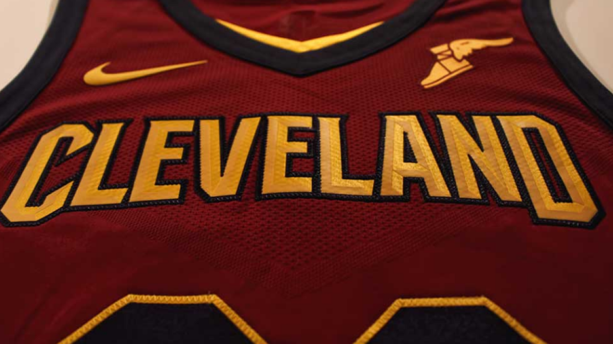 ea86226ca8d Cavaliers unveil new Nike uniforms and include Kyrie Irving in the promo -  CBSSports.com