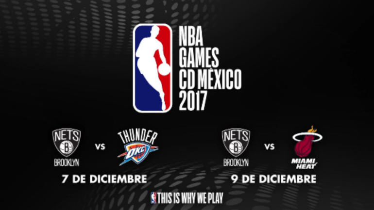 NBA to play two games in Mexico City next season, headlined by Thunder and Heat