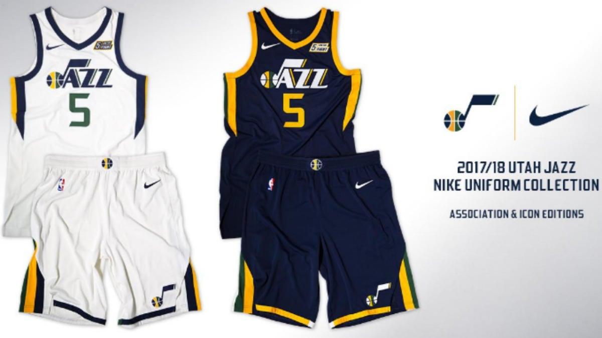 huge selection of dc5ae eb747 LOOK: Utah Jazz reveal new Nike jerseys for 2017-18 season ...