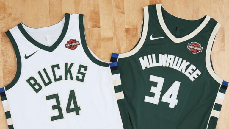 526baf3e9b3 Milwaukee Bucks to partner with Harley-Davidson for jersey patch -  CBSSports.com