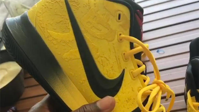 d0b8668b07da Kyrie Irving reveals new collaborative shoe with Kobe Bryant -- the Kyrie 3  Bruce Lee - CBSSports.com
