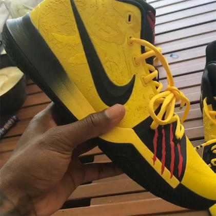 official photos 9d1d0 08af0 Kyrie Irving reveals new collaborative shoe with Kobe Bryant ...