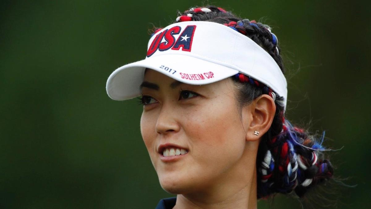 LOOK: Michelle Wie rocks snazzy red, white and blue gear at Solheim Cup