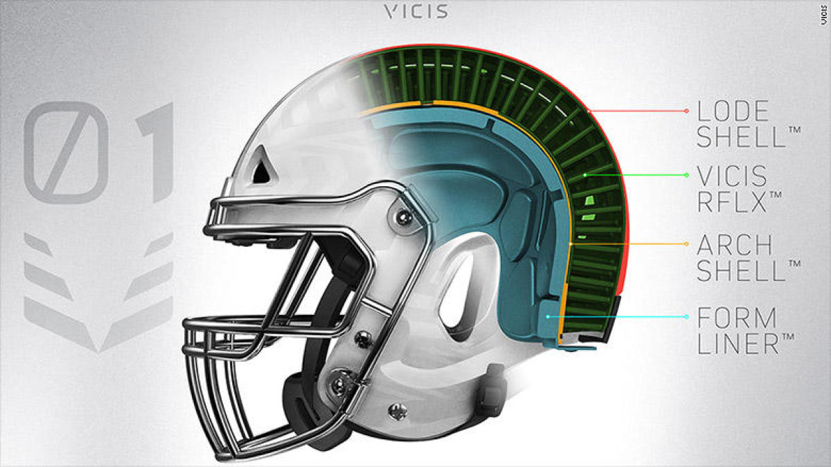 huge discount 69261 cb34f The safest helmet in football  What s inside the NFL s newest headgear -  CBSSports.com