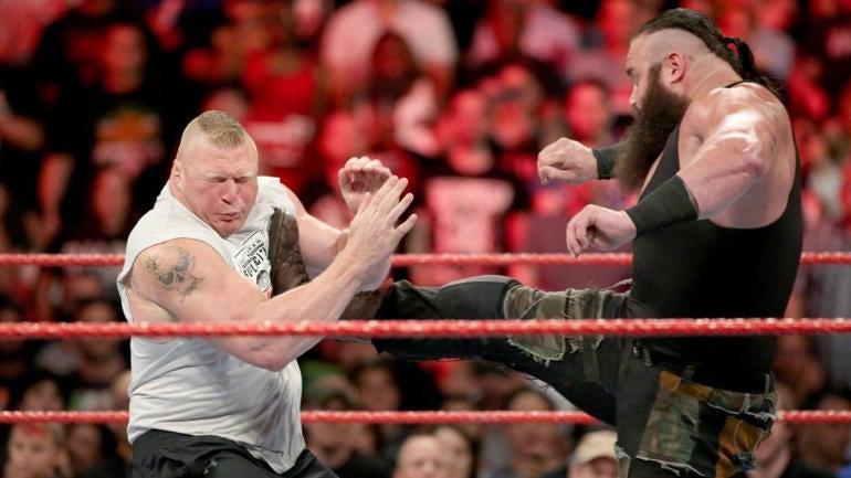 WWE Raw results, recap: Brock Lesnar, Braun Strowman ...