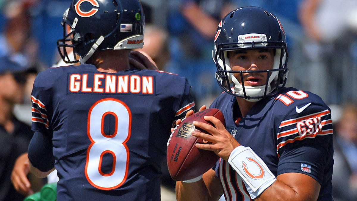 293051f3600 Mitchell Trubisky to reportedly start in Week 5 after Bears bench Mike  Glennon - CBSSports.com