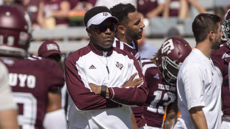 fan sends racist letter to home of kevin sumlin after texas a m s rh cbssports com