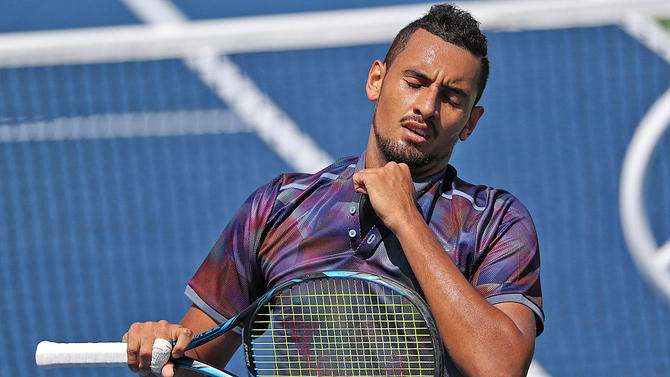 The Controversial Aussie Player Is Out At Us Open After A Colorful First Round Match