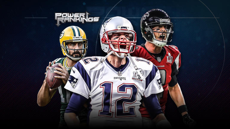 NFL Power Rankings: Patriots starting No. 1 is the only ...
