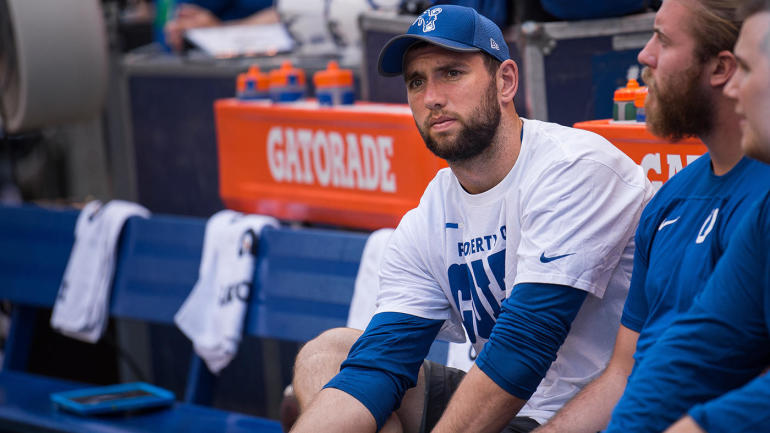 Andrew Luck's agent: 'No truth' to rumors that injured QB wants out of Indy