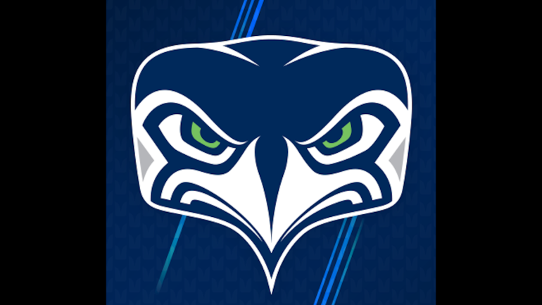 look seahawks unveil a new alternate logo and twitter can t stop