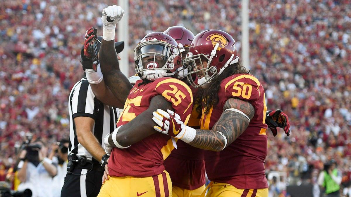 Usc Vs Stanford Score Highlights Sam Darnold Trojans