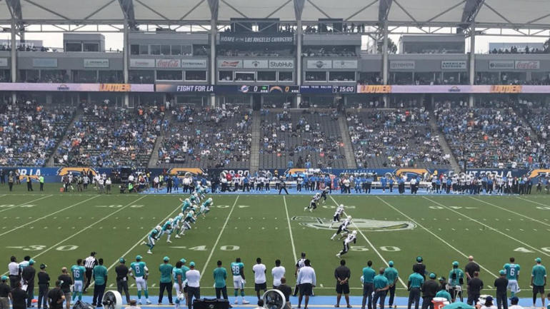 Chargers-kickoff-dolphins