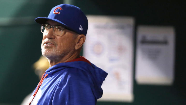 Cubs won't talk contract extension with manager Joe Maddon this offseason