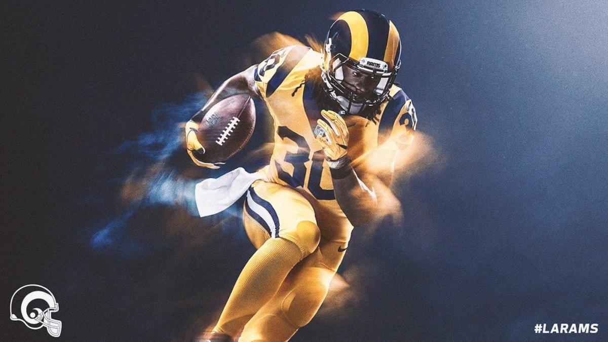 low priced 37198 7e593 Color Rush: Here's what Rams, 49ers will be wearing for ...