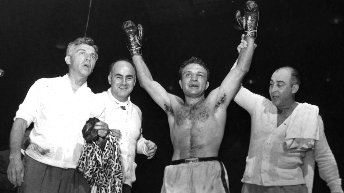 Legendary boxer Jake LaMotta, the inspiration for 'Raging