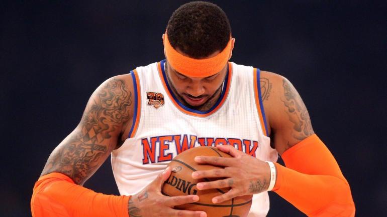 Report: Knicks agree to trade Carmelo Anthony to Oklahoma City Thunder