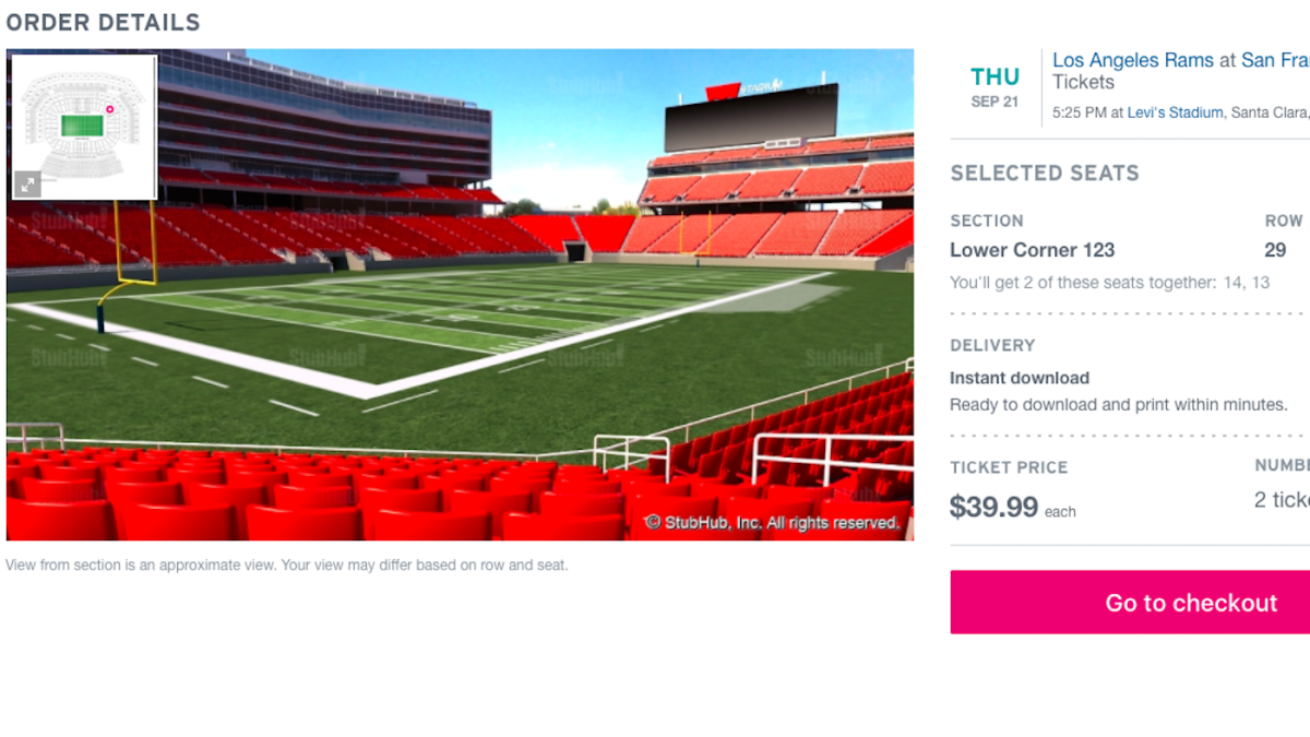 Thursday Night Football Low Ticket Prices Coldplay Could Outpace 49ers Wins At Levi S Cbssports Com
