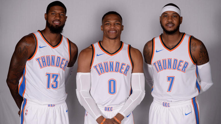 Thunder preview: OKC must convince Paul George and Melo to ...