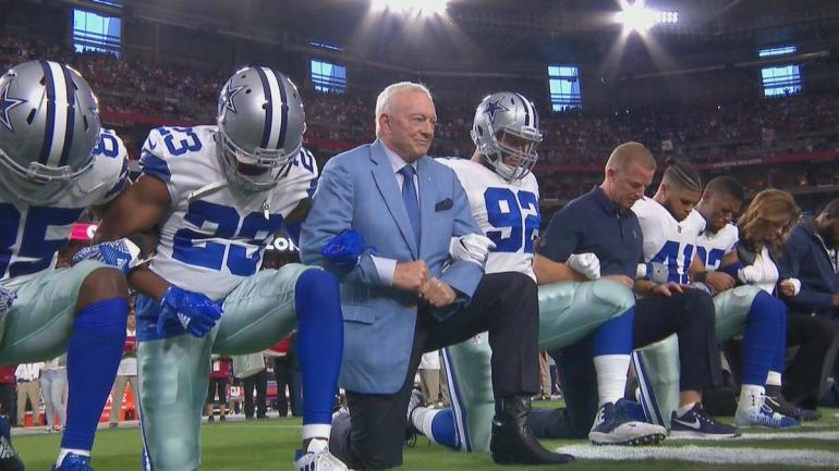 Jerry Jones' comments about protests fostering frustration in Cowboys locker room