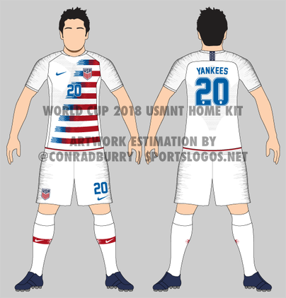 low priced e233b f08b7 LOOK: If these are the rumored USMNT kits for the 2018 World ...