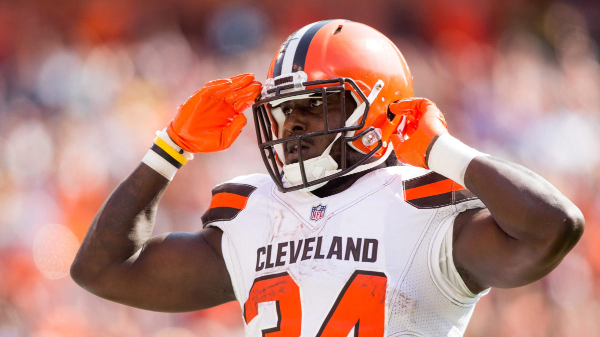 low priced 6391d 13fb2 LOOK: Browns' Isaiah Crowell likes a bunch of tweets that ...