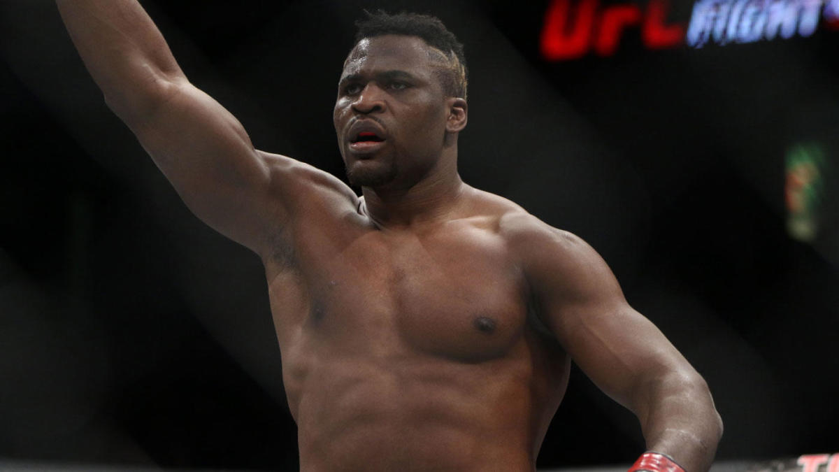 Ufc 218 Results Francis Ngannou Flattens Alistair Overeem