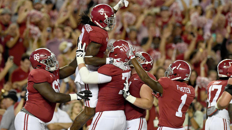 College Football Scores Schedule 2017 Alabama Dominates Oklahoma