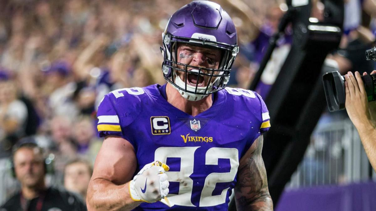 new concept 89674 51ff7 NFL rumors: Vikings could trade Kyle Rudolph after contract ...