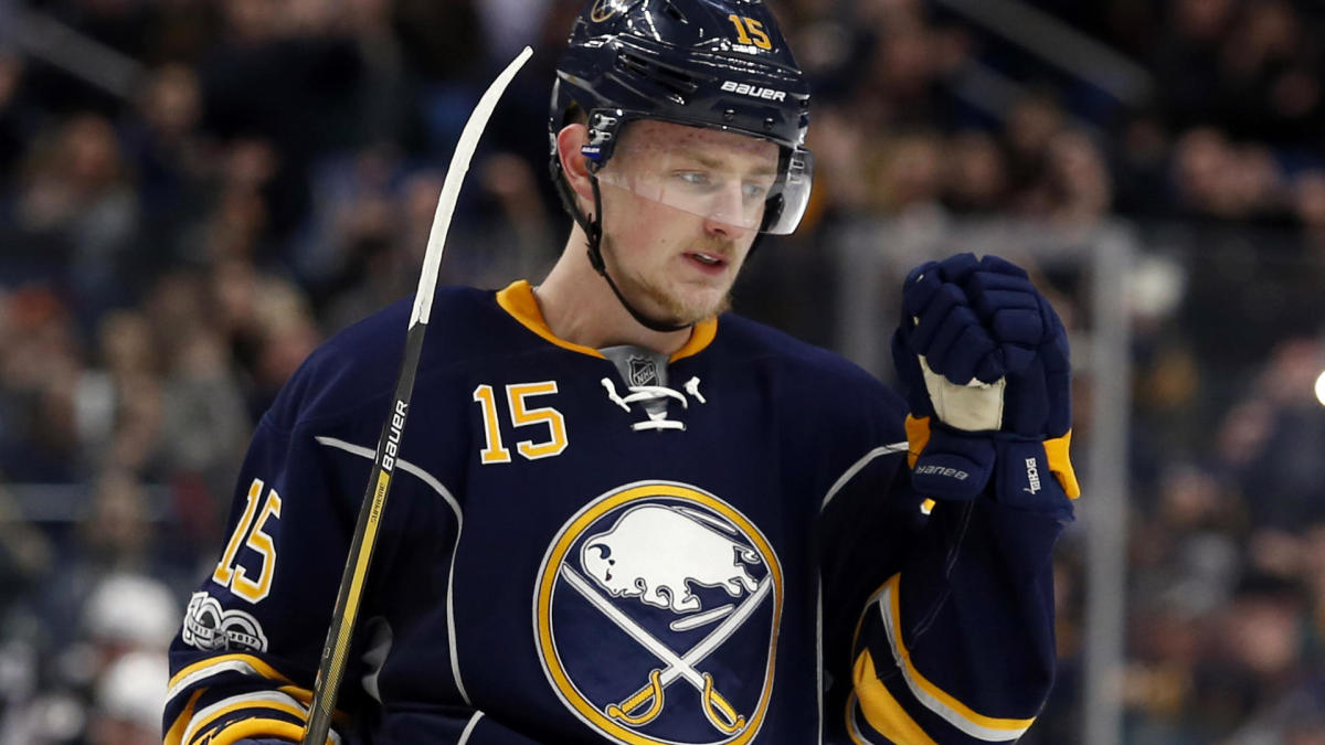 new product 7f2b9 c1831 Buffalo Sabres name Jack Eichel as their newest captain ...
