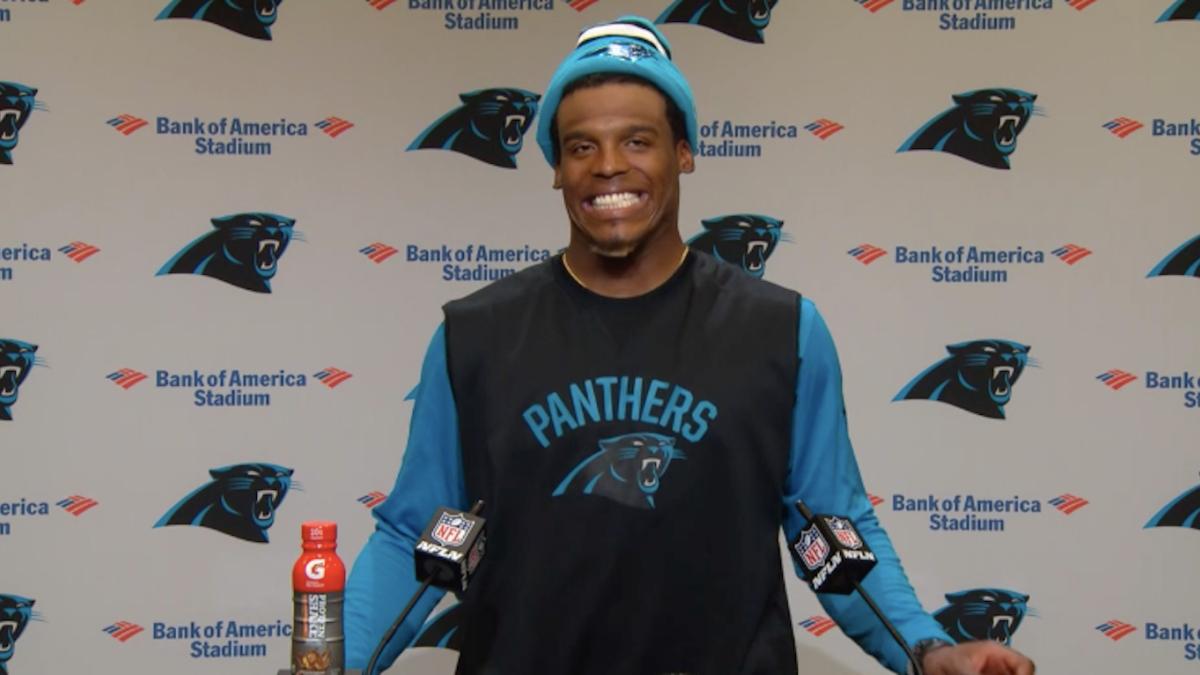 Cam Newton Shirt Rip